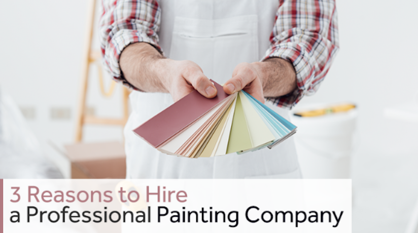 3 Reasons to hire a Professional painting company for your CharlestonHome